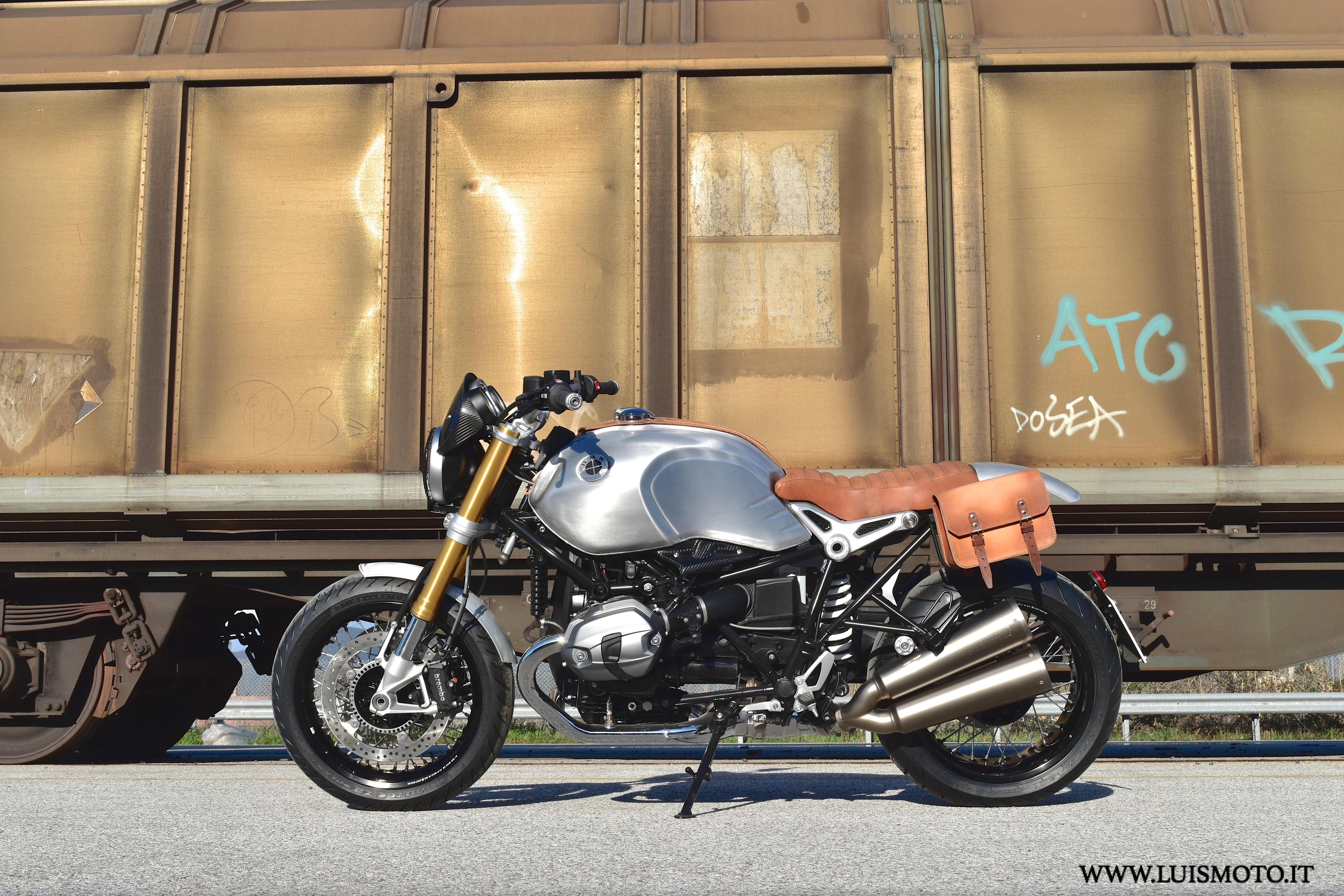 BMW R NineT Quicksilver (LuisMoto custom)