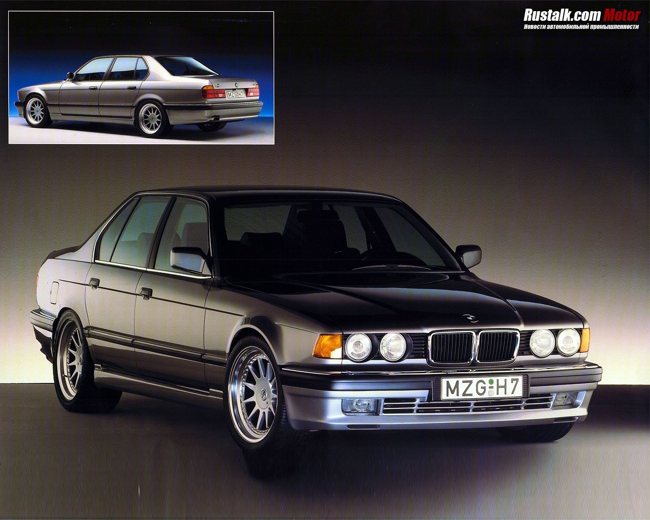 Bmw 7 Series E32 Gallery And Specs Bimmerin