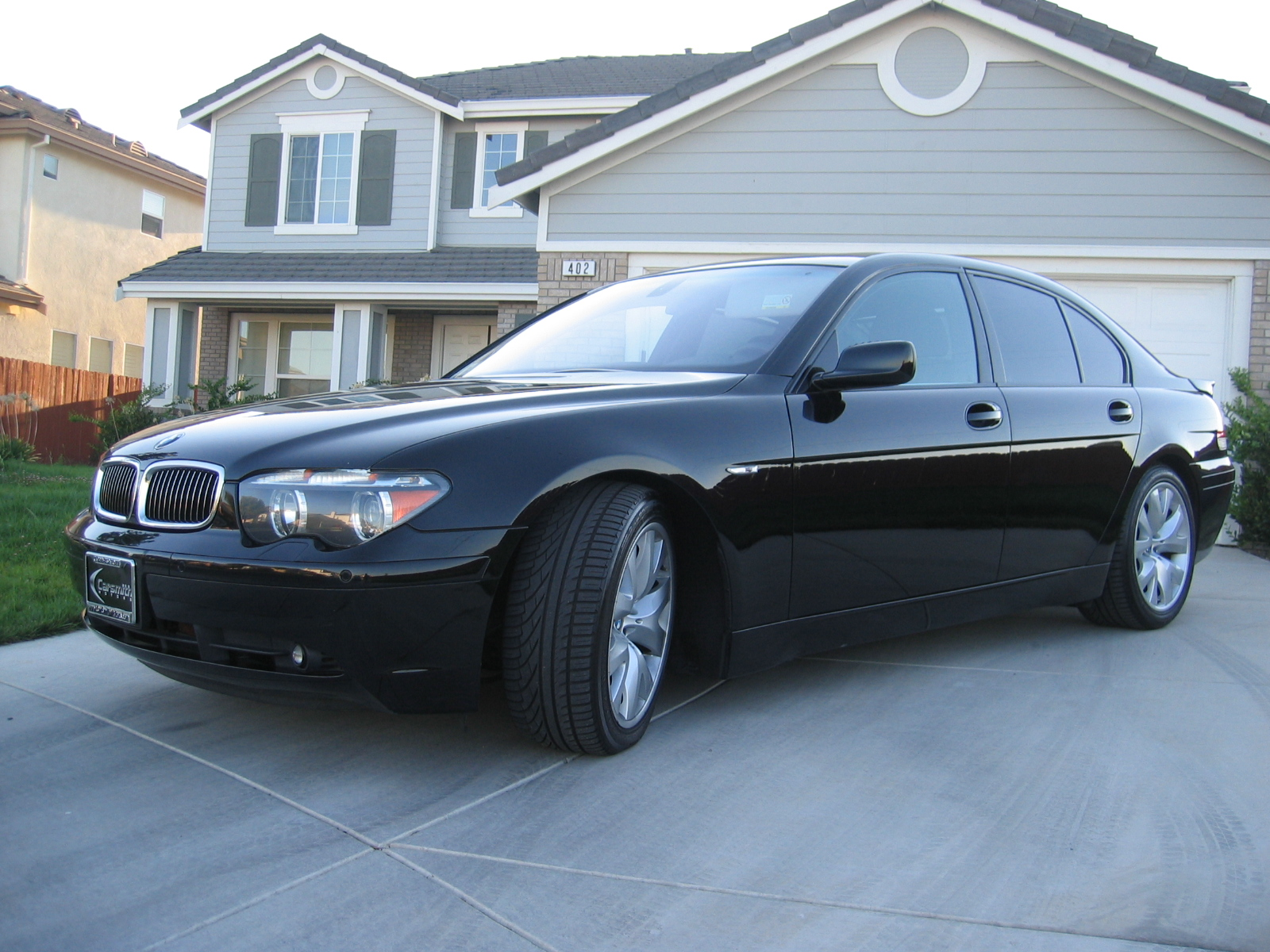 2001 BMW 745i E65 related infomation,specifications ...