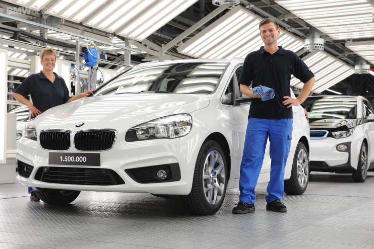 BMW Leipzig plant produced its 1.5-millionth vehicle by 25th october 2014!