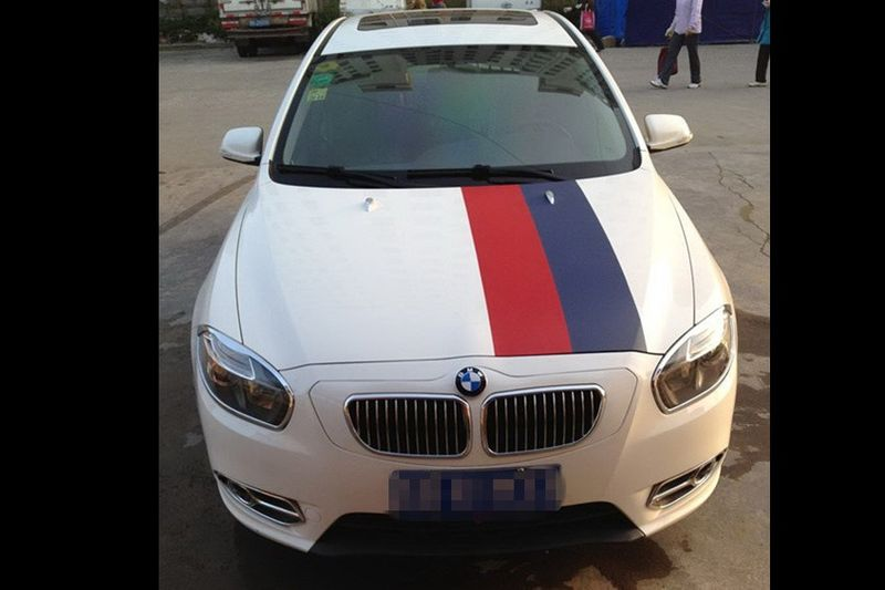 Chinese kits to convert any chinese car in BMW :)