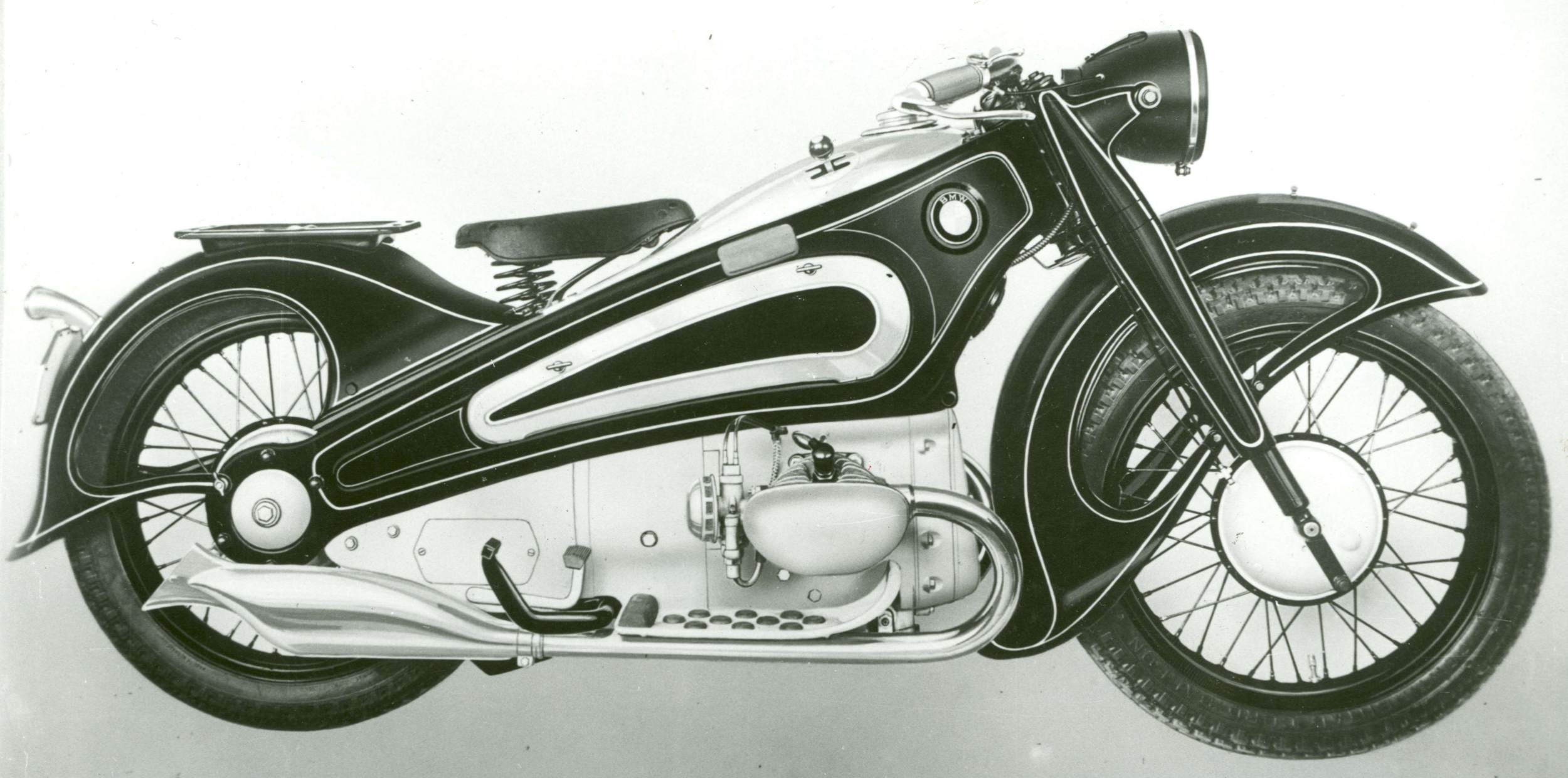 Art Deco Motorcycle 1934 bmw r7 art deco treasureDieselpunk Motorcycle Art