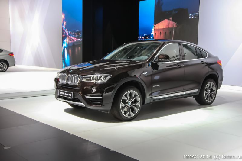 New BMW X4, BMW i8, 7 series high security and X5 security plus at Moscow AutoShow 2014