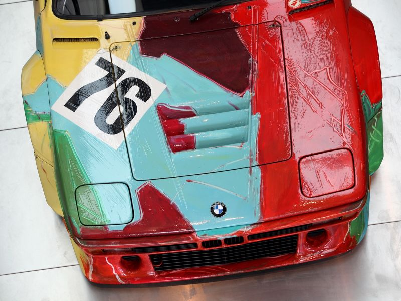 1979 BMW M1 painted by Andy Warhol