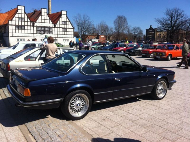 BMW 635CSi, Youngtimer Season Opener, Gdansk, Poland