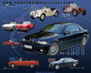 BMW convertibles evolution since 1934